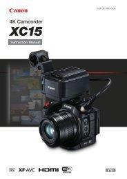 Canon XC15 - XC15