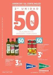 Folleto Hipercor supermercado del 20 de Julio al 2 de Agosto 2017