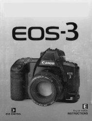 Canon EOS-3 - EOS-3