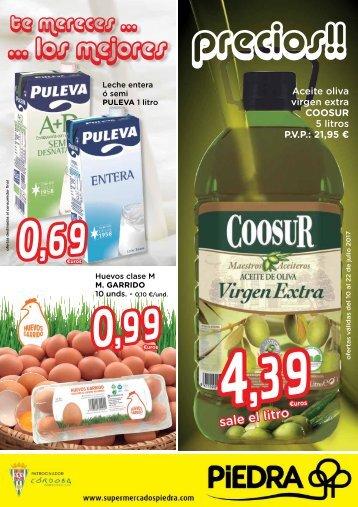 Folleto Supermercados Piedra hasta 22 de Julio 2017