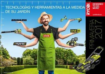 RYOBI JARDIN CATALOGO TARIFA 2017