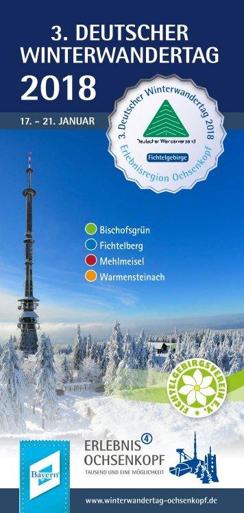 Programm Deutscher Winterwandertag 2018