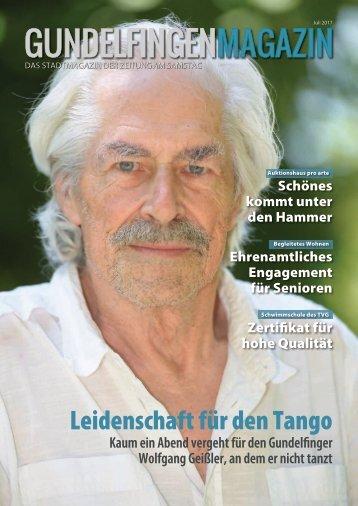 Gundelfingen Magazin, Juli 2017