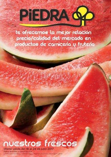 Folleto Supermercados Piedra Frescos hasta 24 de Julio 2017