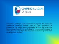 TX Small Business Loans