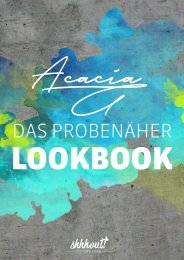 shhhout ACACIA Lookbook