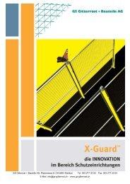 Trennwand X-Guard