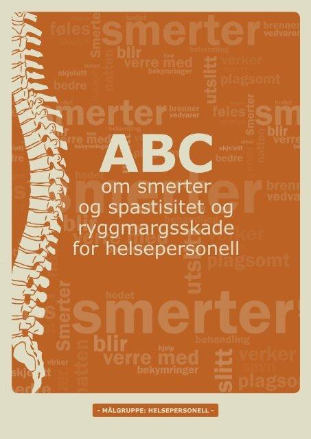 ABC om smerter og spasmer - helsepersonell