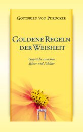 Goldene Regeln der Weisheit (Gottfried von Purucker) - Leseprobe