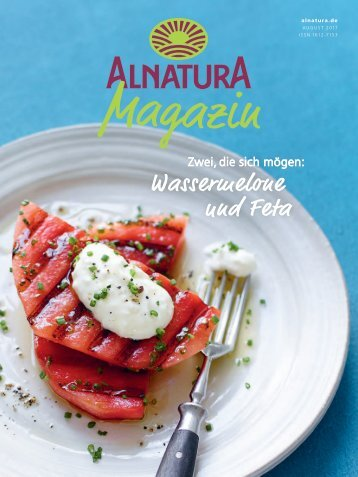 Alnatura Magazin - August 2017