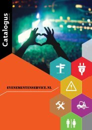 Evenementenservice catalogus