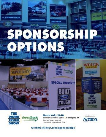 WTS18 sponsorship brochure