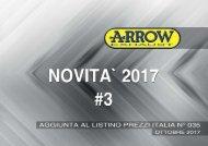 Nuovi Prodotti Ottobre 2017 - Aggiornamento Catalogo N.35