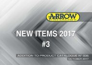 New items October 2017-Addition Product Catalogue N.35