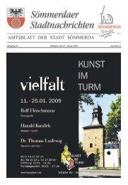 Amtsblatt Nr. 01 vom 07.01.2009 - Sömmerda