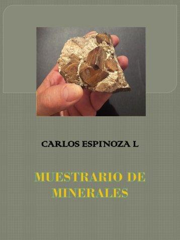 Muestrario Minerales