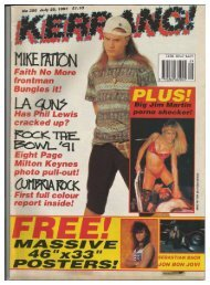 Kerrang 350 July 20th   1991
