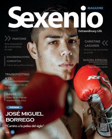 Sexenio Magazine Julio