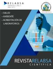 Revista Relabsa Vol 1 No. 1 Año 2017