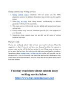 Cheap or Expensive Custom Essay Writing Services What Is The Difference - Page 4