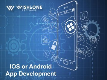 IOS or Android App Development