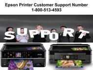 Epson Technical Support Number 1-800-513-4593, Epson Toll free helpline