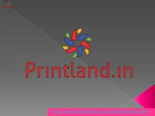 Company Letterhead Online Letterhead Printing Custom