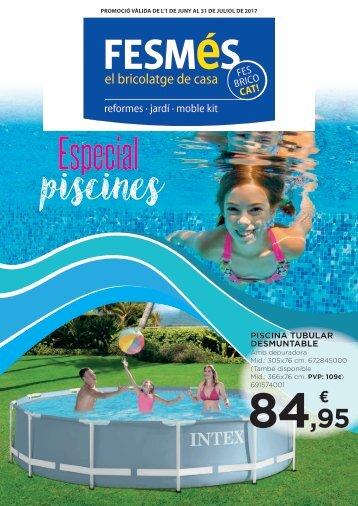 Fullet FESMÉS especial piscines fins 31 de Juliol 2017