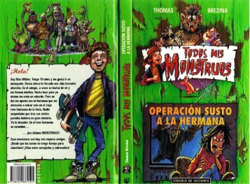 Brezina Thomas - Todos Mis Monstruos 04 - Operacion Susto A La Hermana