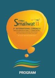 Detailed program - III International Congress Smallwat