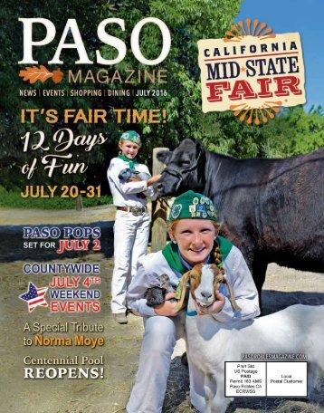 2016 July PASO Magazine