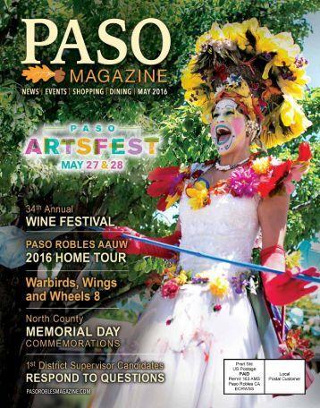 2016 May PASO Magazine