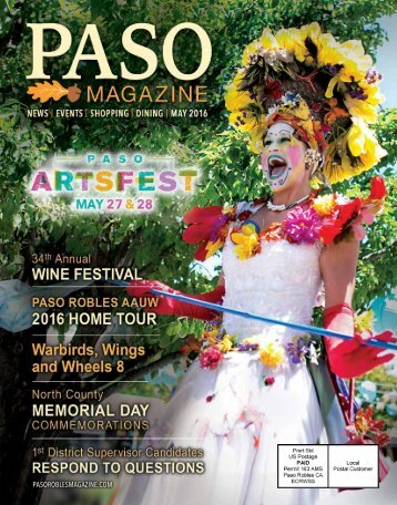 2016 May PASO Magazine