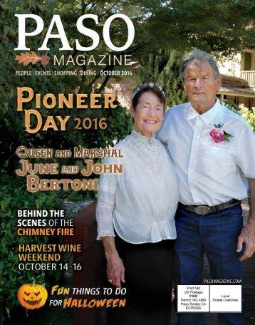 2016 October PASO Magazine
