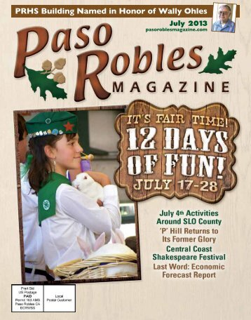 2013 July PASO Magazine