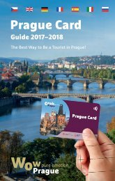 Prague Card Guide 2017-2018