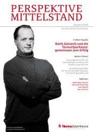 Barth Galvanik und die TaunusSparkasse: gemeinsam zum Erfolg