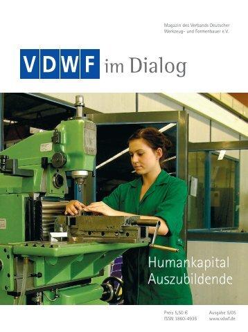Firmenportrait Karl-Heinz Müller KG im VDWF-Magazin