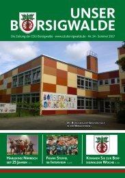 Unser Borsigwalde 24 (Sommer 2017)