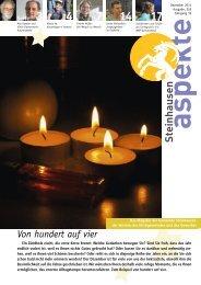 Ausgabe 12/2011 - Aspekte Steinhausen