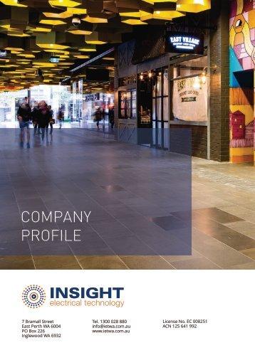 IET Company Profile 2017 Draft