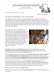 Anmeldung zur Firmfahrt 2012 - Pastoralverbund Welver-Scheidingen