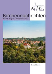 Ausgabe Nr. 111 August / September 2017