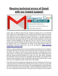 Gmail Help Centre Number USA