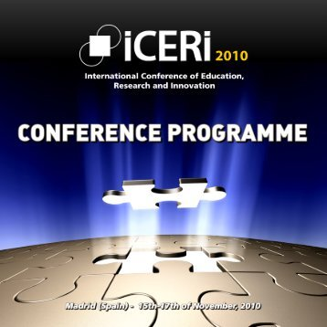 ICERI2010 Conference Programme - IATED