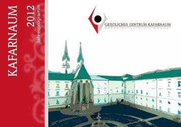 Das Programm 2012 - Martyria.de