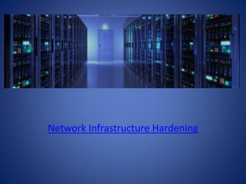 Network-Infrastructure-Security