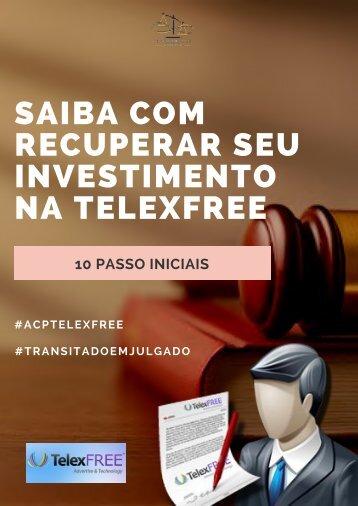 GUIA PARA RECUPERAR DINHEIRO DA TELEXFREE - 10 PASSOS