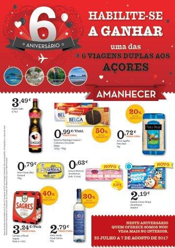 Folheto Amanhecer | Dia-a-Dia Supermercados 25/Jul a 07/Ago 2017