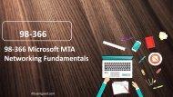 100% Valid 98-366 Microsoft MTA Networking Fundamentals Dumps Questions